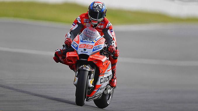 Pole Position di Jorge Lorenzo al Gran Premio della Catalogna