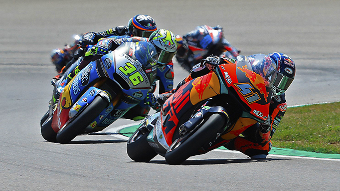 Moto2 Gara GP di Germania Circuito del Sachsenring