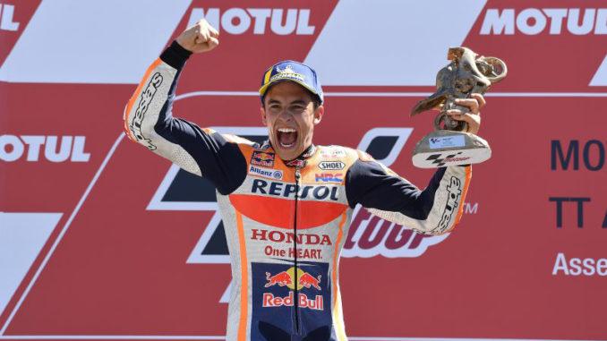 Marquez vince ad Assen
