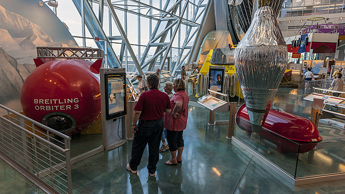 Orbiter 3 la mongolfiera che ha fatto il giro del mondo.