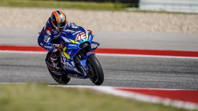 Alex Rins Vince in America Classe MotoGP