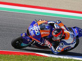 Augusto Fernandez Vince ad Assen Classe Moto2 Campionato 2019