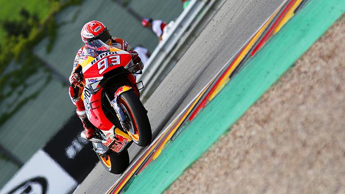 Marquez Vince anche in Germania