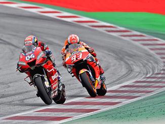 Dovizioso Vince il GP Austria 2019 Red Bull Ring Spilberg