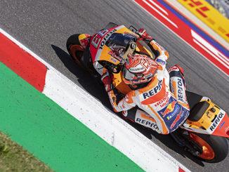 Marquez vince il GP di San Marino e della riviera di Rimini