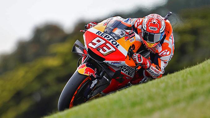 Marc Marquez AusralianGP 2019