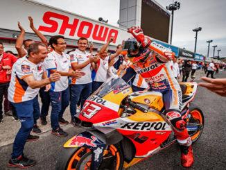 Marquez Vince il GP del Giappone , Motegi 2019