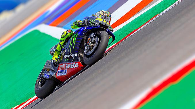 Valentino Rossi sicuramente non appenderà il casco al chiodo